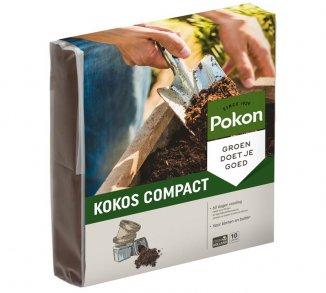 Pokon kokos Potgrond Compact Pokon compacte potgrond 10L of 100L